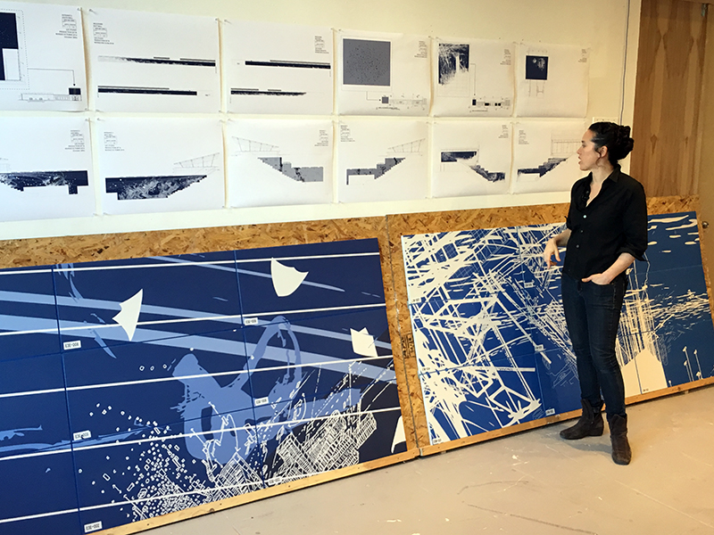 Sarah Sze, Blueprint for a Landscape