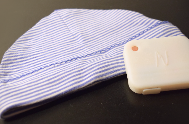 Neopenda baby hat monitors vital signs