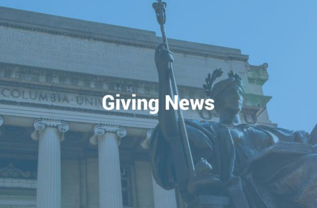 Columbia Giving News