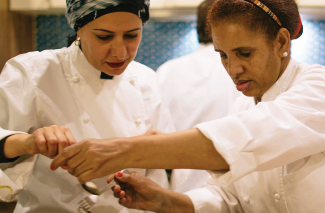 Refugee chefs in NYC